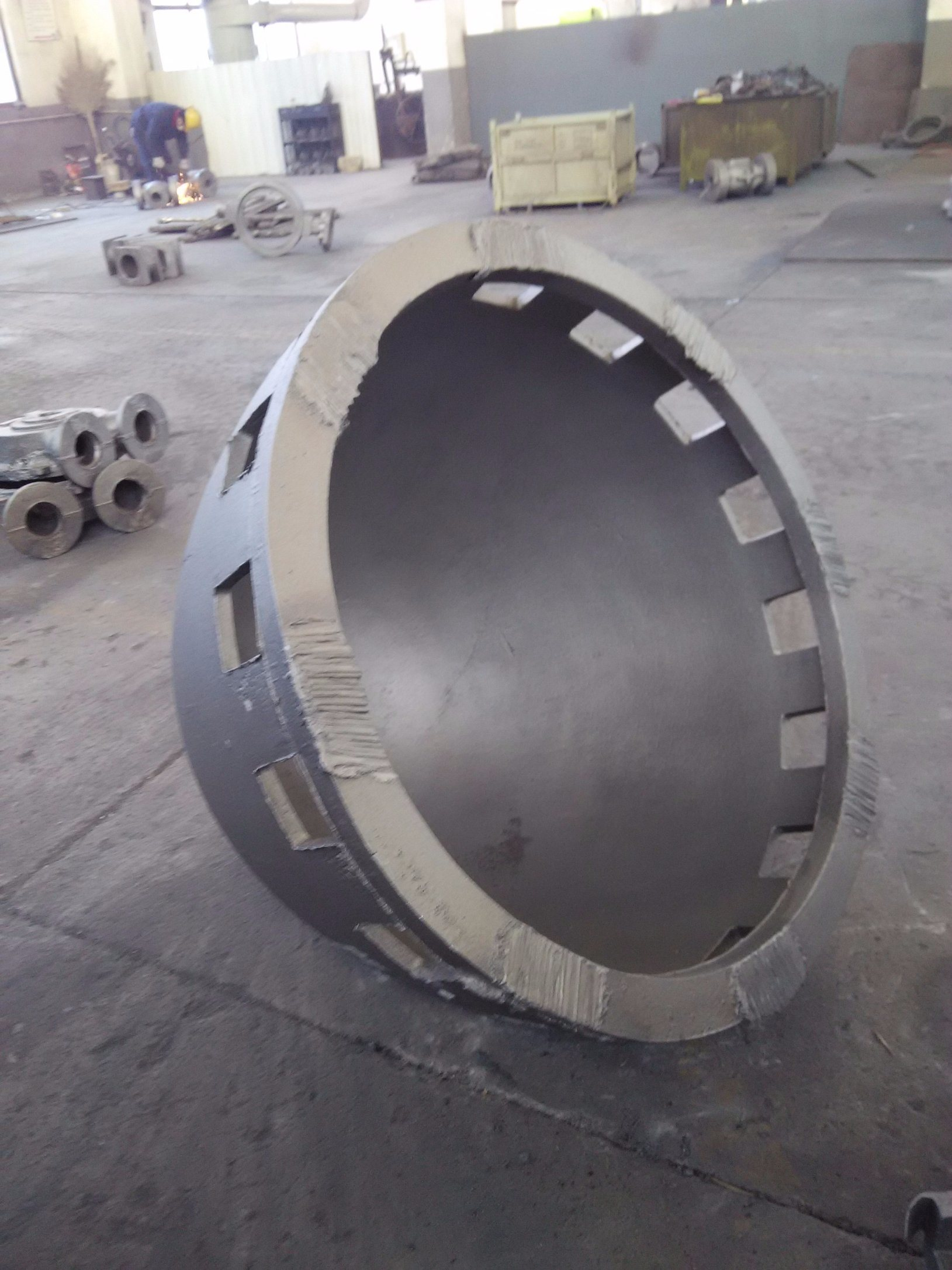 OEM Sand Casting Parts for Construction Machine