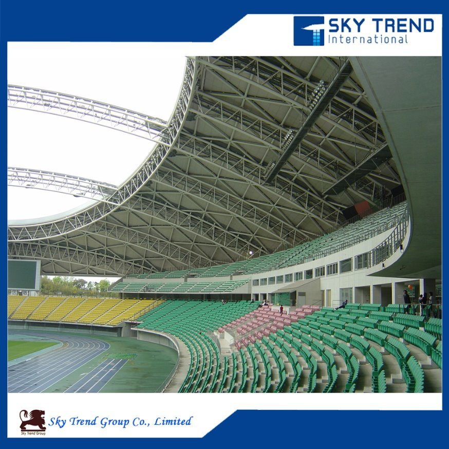 Best Design of Commerical Steel Structure Building -Stadium, Railway Station
