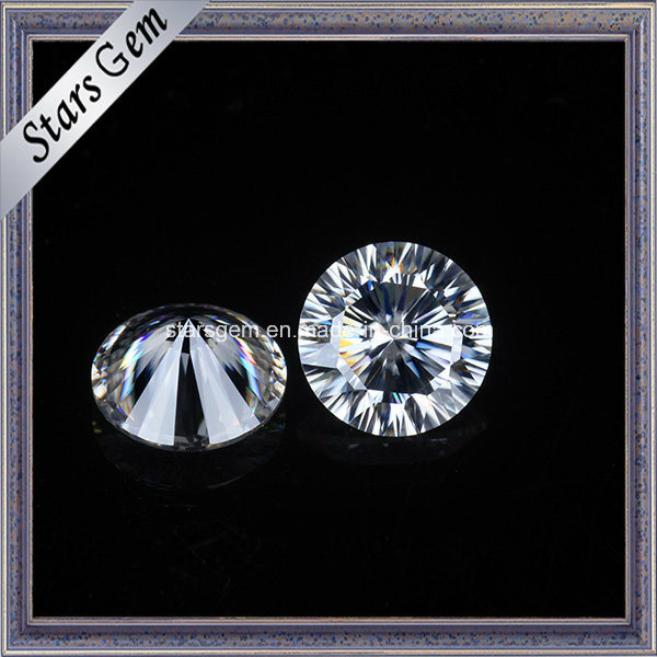 6.50mm One Carat Very Shine Moissanite Loose Gemstone