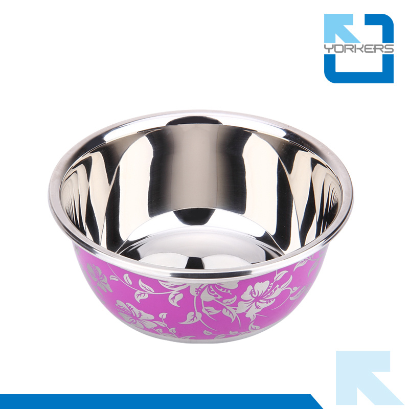 SGS Gorgeous Carving Stainless Steel Mixing Bowl Salad Bowls