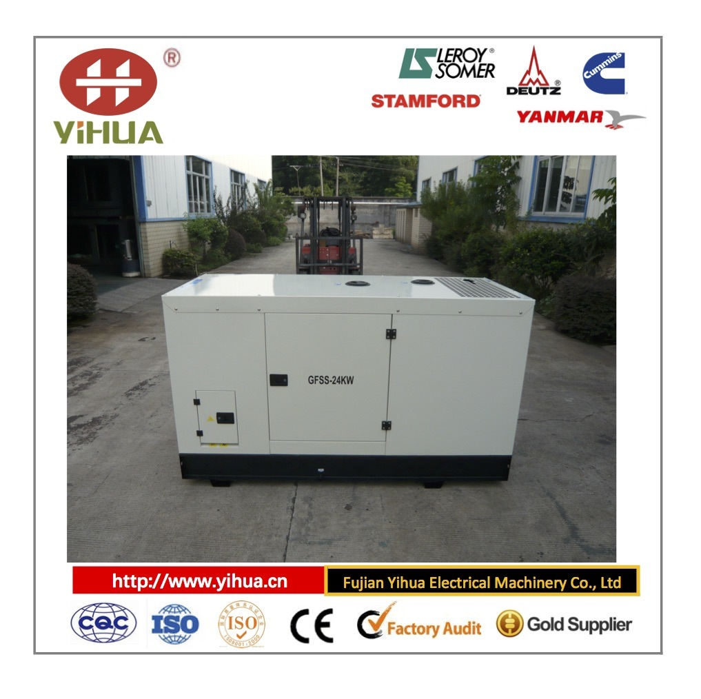 Lovol (China) Good Quality Silent Type Diesel Generator Set