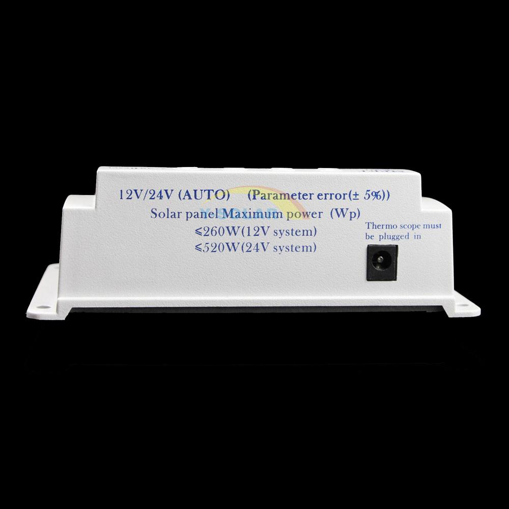 12V/24V 20A Dual Timer Control Solar Charger/Discharger Controller T20