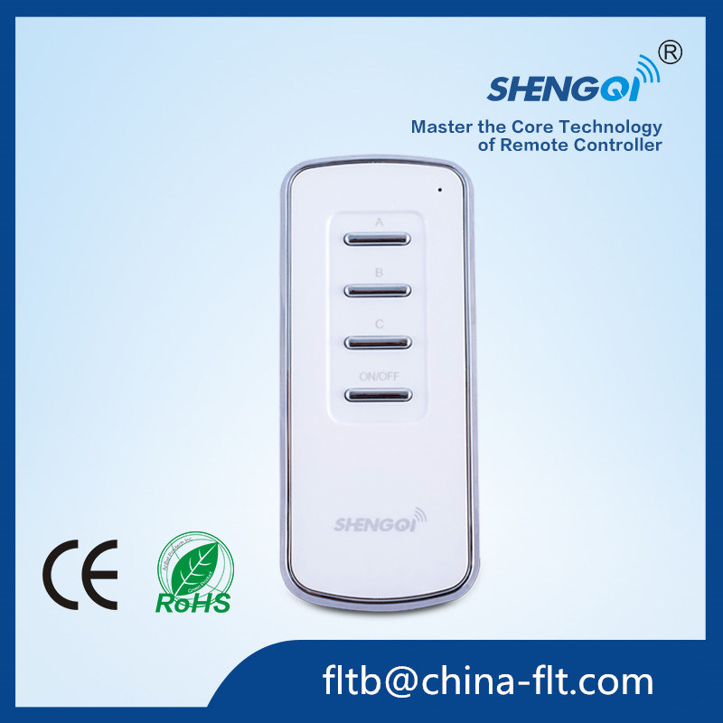 Customized FT-3 RF 3 Channel Remot Control for Fan Lamp