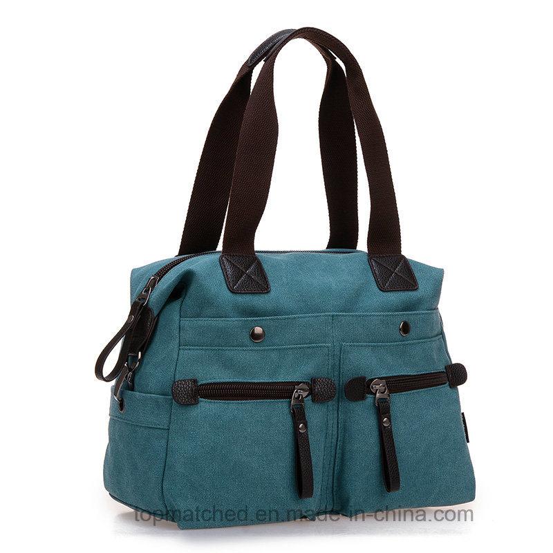 Women Canvas Handbag Ladies Messenger Shoulder Canvas Tote Hand Bag