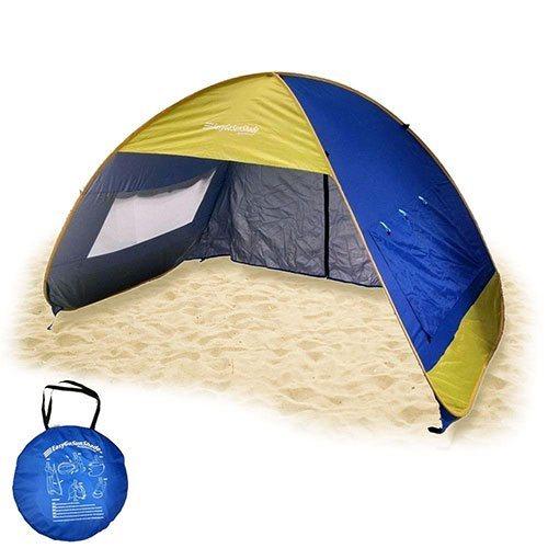 Sun Shade Instant Pop up Family Beach Umbrella Tent (Shelter Shack)
