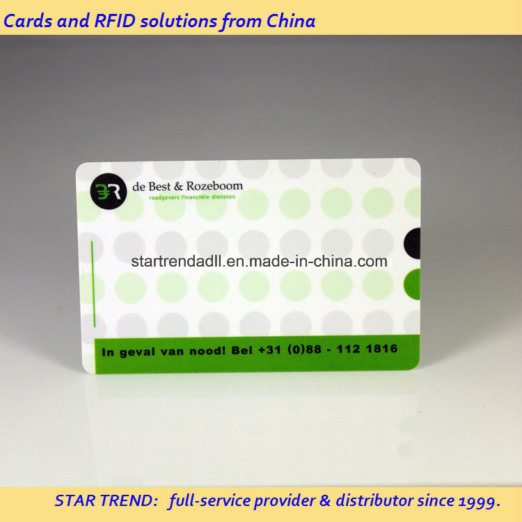 Theatre Loyalty Card Made of PVC with Magnetic Stripe (ISO 7811)