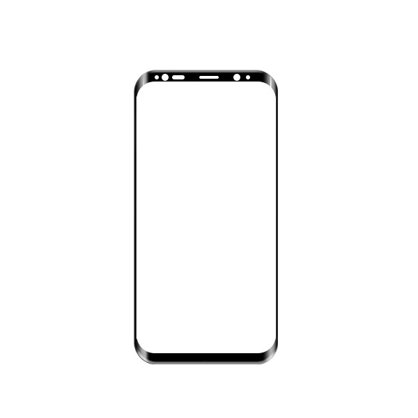 Newest 3D Full Cover Mobile Phone Tempered Glass Screen Protector for Samsung Galaxy S8 Edge