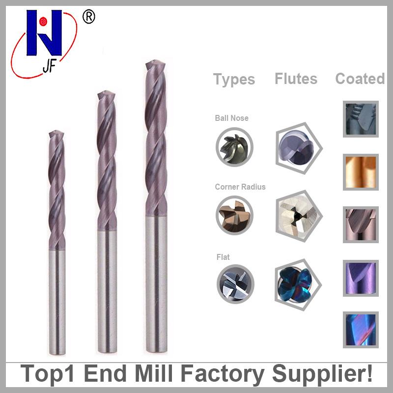 Tungsten Solid Carbide Hollow Twist Drill Bit