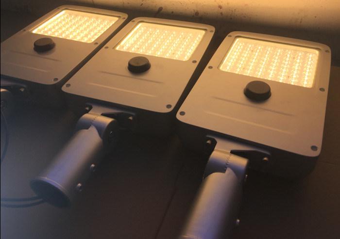 Ce RoHS FCC Working Mode Settable 130lm/W 40W LED Solar Street Light