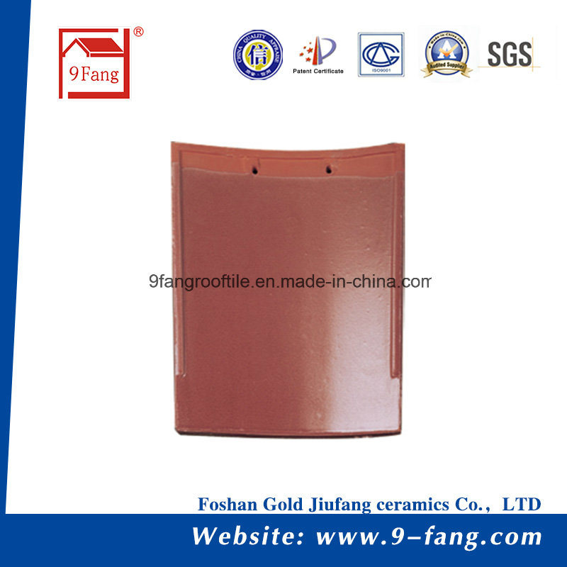 9fang Clay Roofing Tile Building Material Spanish Roof Tiles 260*260mm