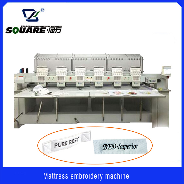 Computerized Multi-Head Mattress Embroidery Machine