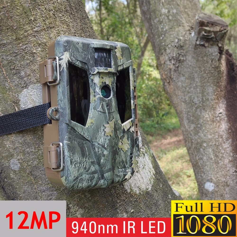 No Glow Infrared Thermal Imaging Camouflage Whitetail Deer Hunting Camera