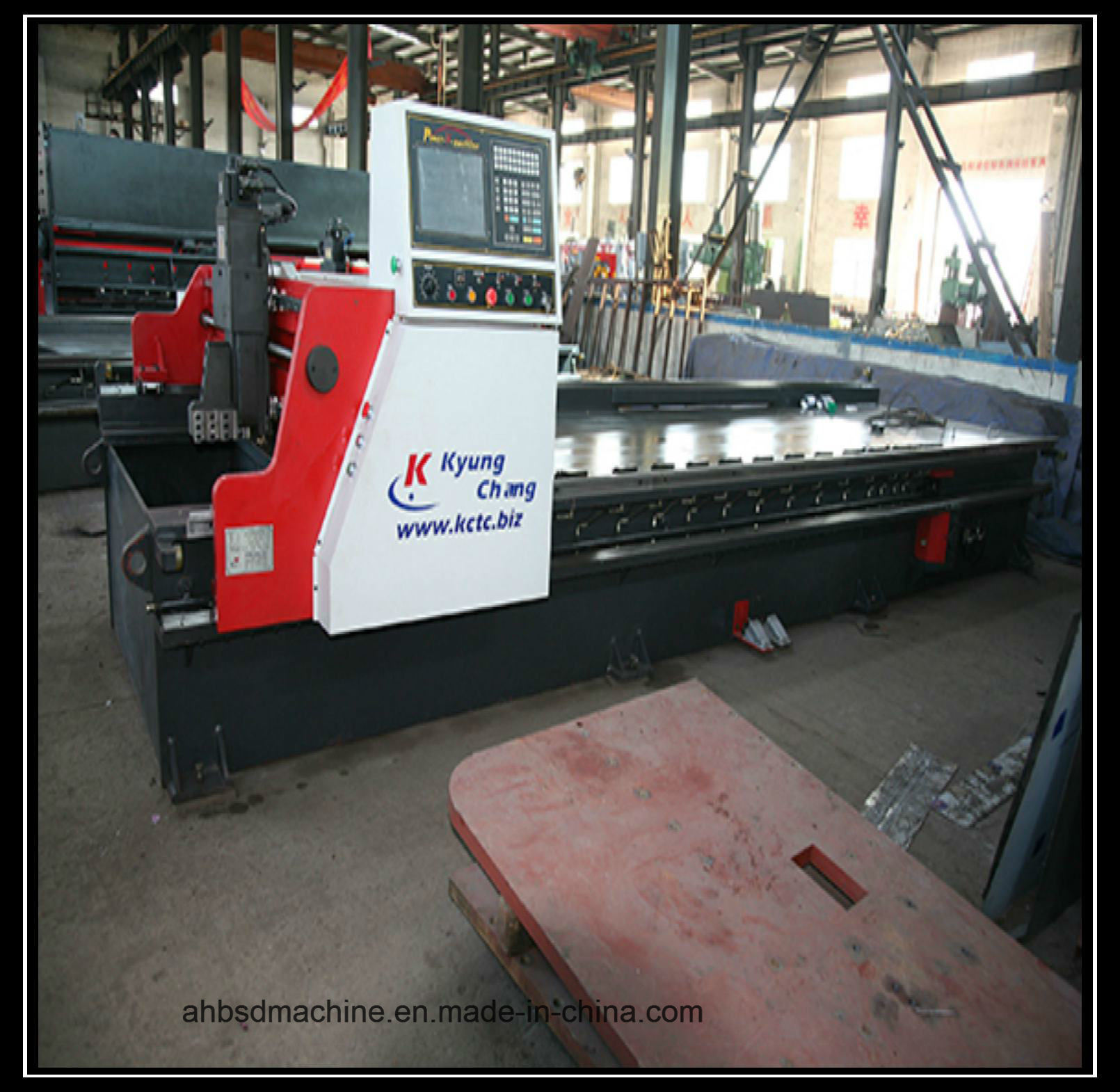 Hot Sale Portable CNC 100mm Metal Plasma CNC Cutting Machine