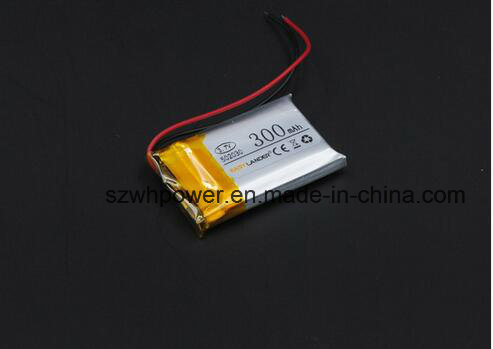 502030 3.7V 300mAh Rechargeable Li Polymer Battery for Bluetooth Headset Mouse Bracelet Wrist Watch