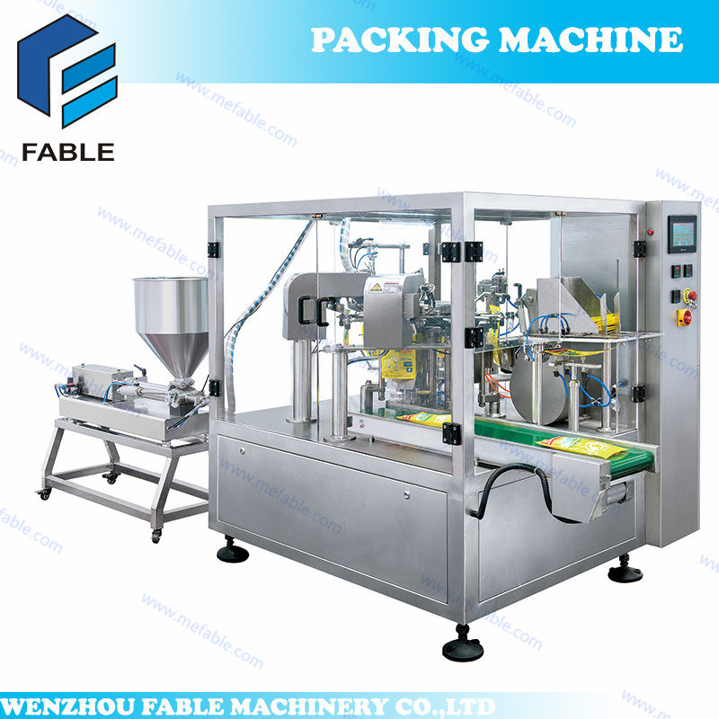 Bag Given Filling Packing Machine for Sauce (FA6/8 -200/300L)