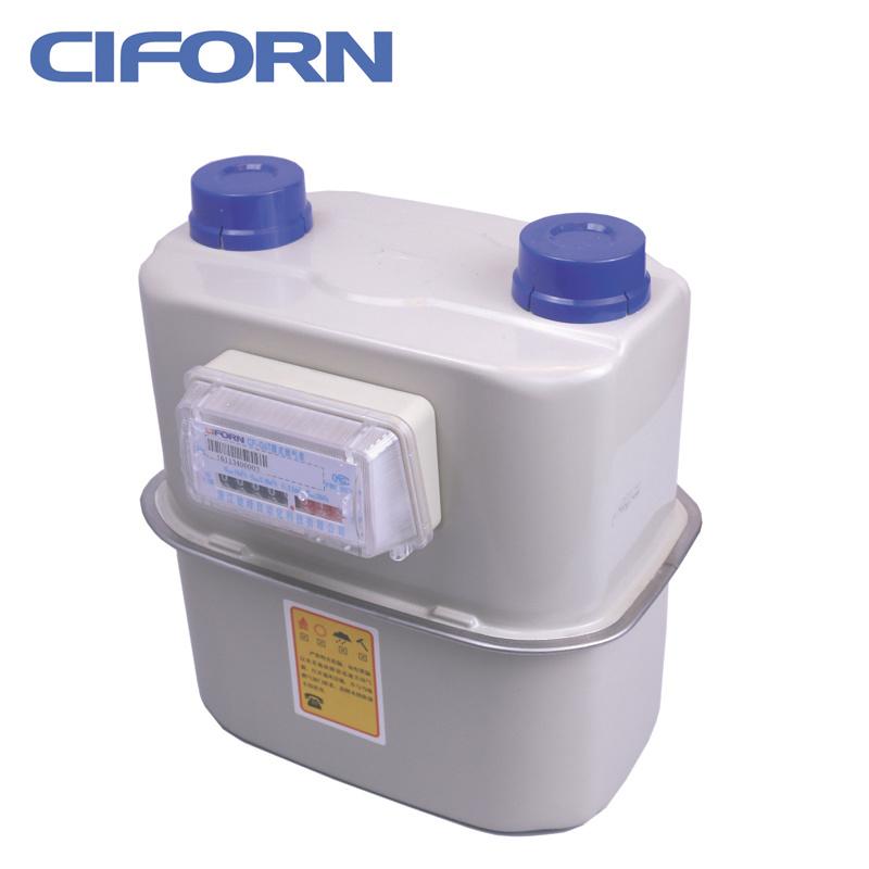 Steel Case Diaphragm Industrial Gas Meter G6-G25