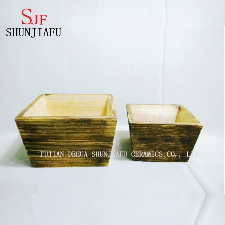 Flower Wooden Planter Box for Plants