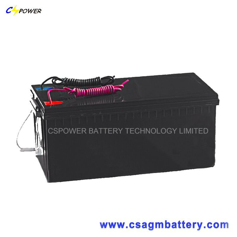3 Years Warranty Cspower Sealed Lead Gel Battery 12V 150ah