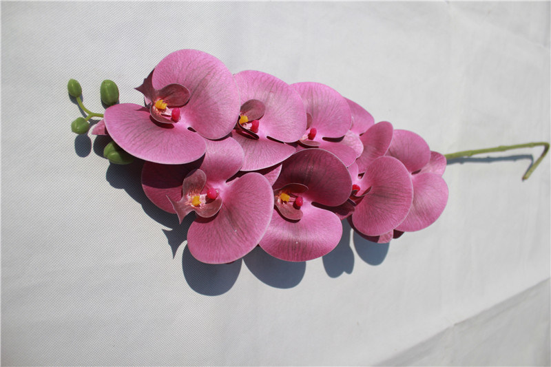 Cheap Phalaenopsis Artificial Flowers for Garden Decoration