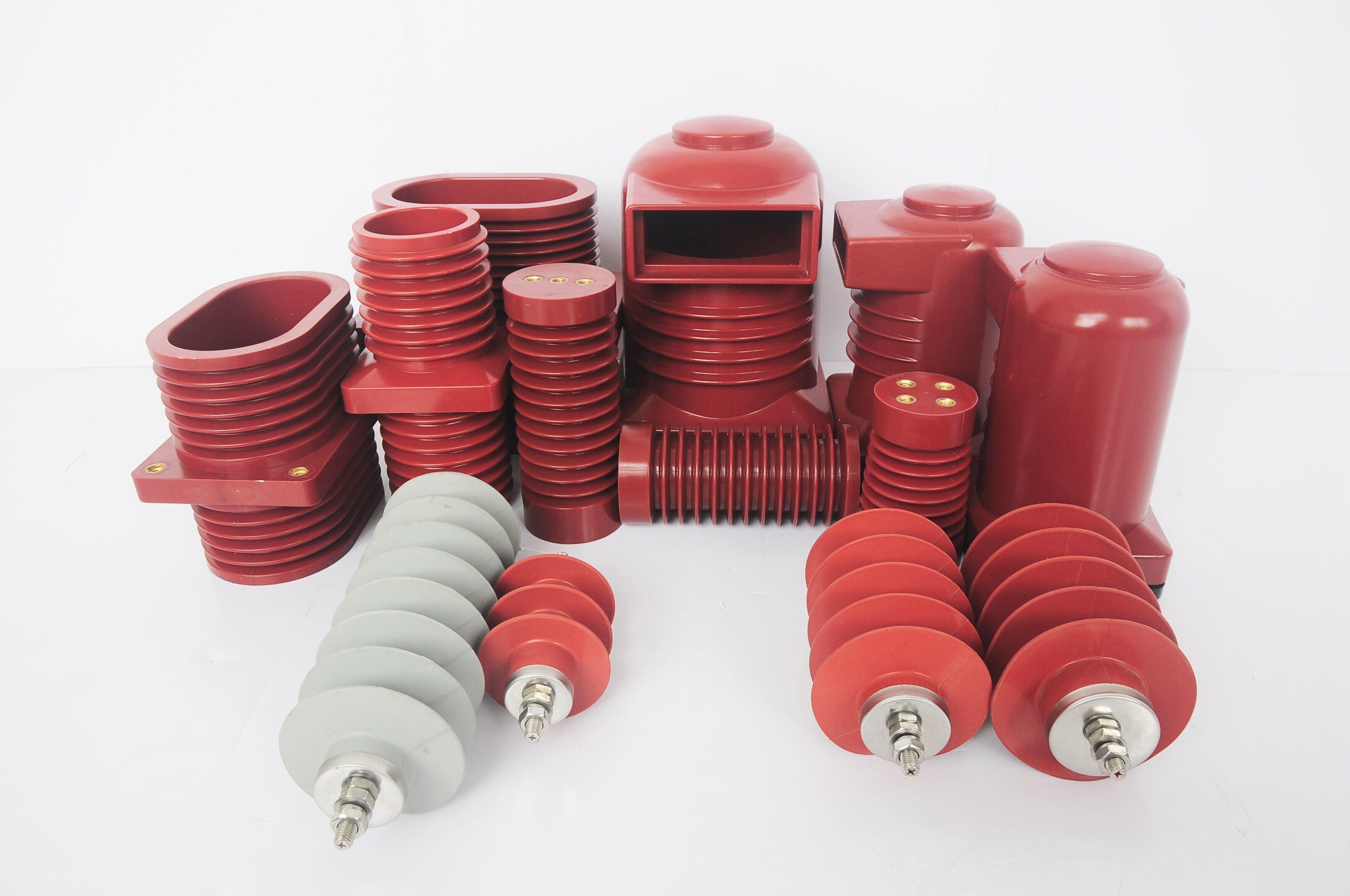 Stong 12kv Switchgears Epoxy Resin Supporting Insulator