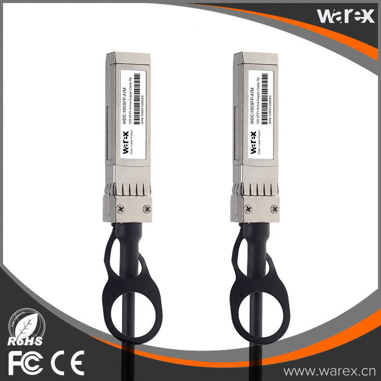 H3C Fiber Cable compatible SFP-H10GB-ACU7M 10G SFP+ Active Direct Attach Copper Cable 7m