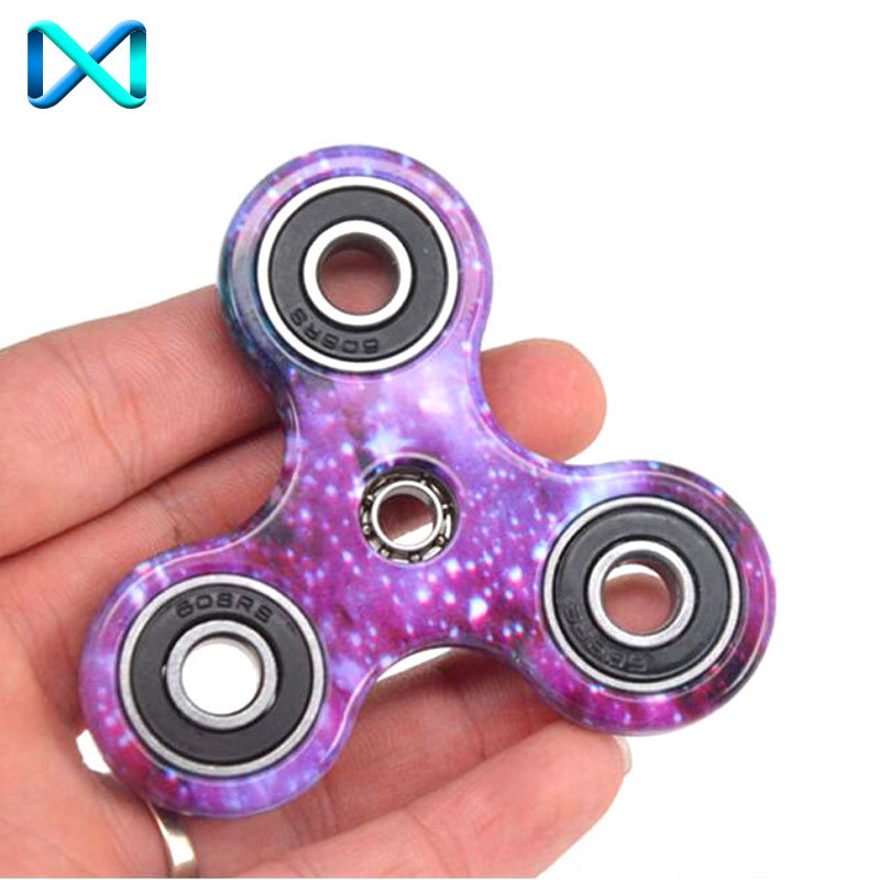 New Office Gadget Toy Tri Fidget Spinner Hand Spinner