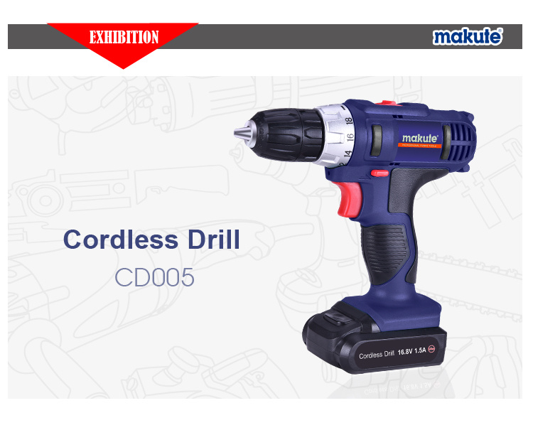 Power Craft Cordless Drill with Powerful Battery