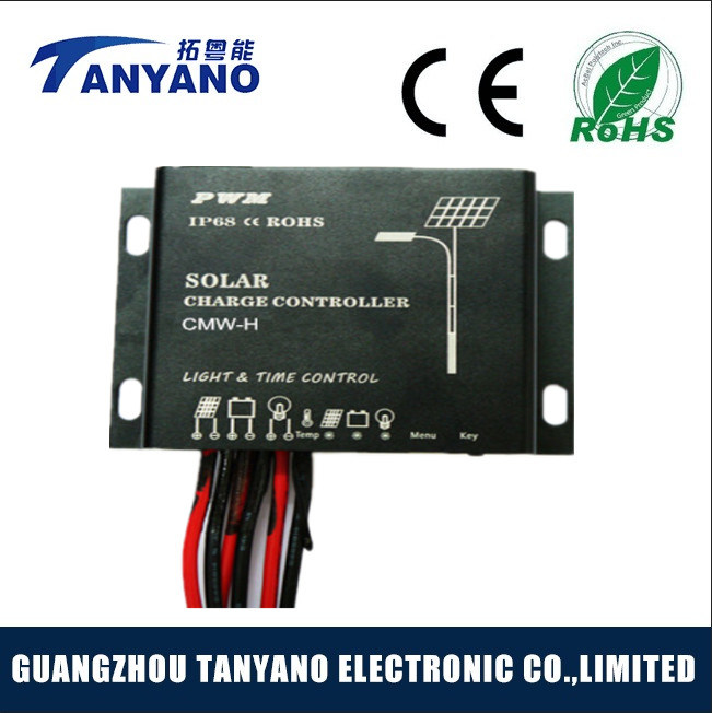 Solar Charge Controller 24V 10A for Solar Light System