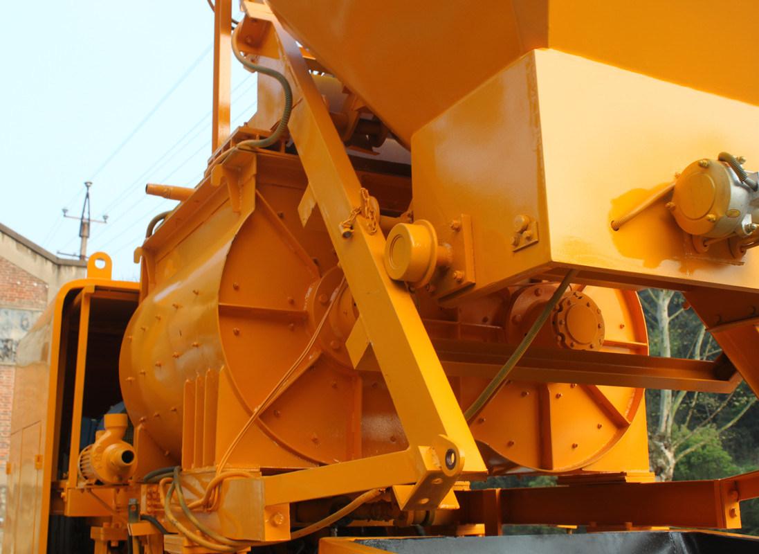 High Efficiency Electric Trailer Concrete Mixer Pump (JBT40-L)