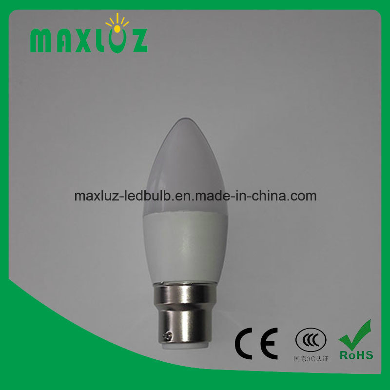 E14 LED Candle Light Bulb with 3W, 4W, 5W, 6W