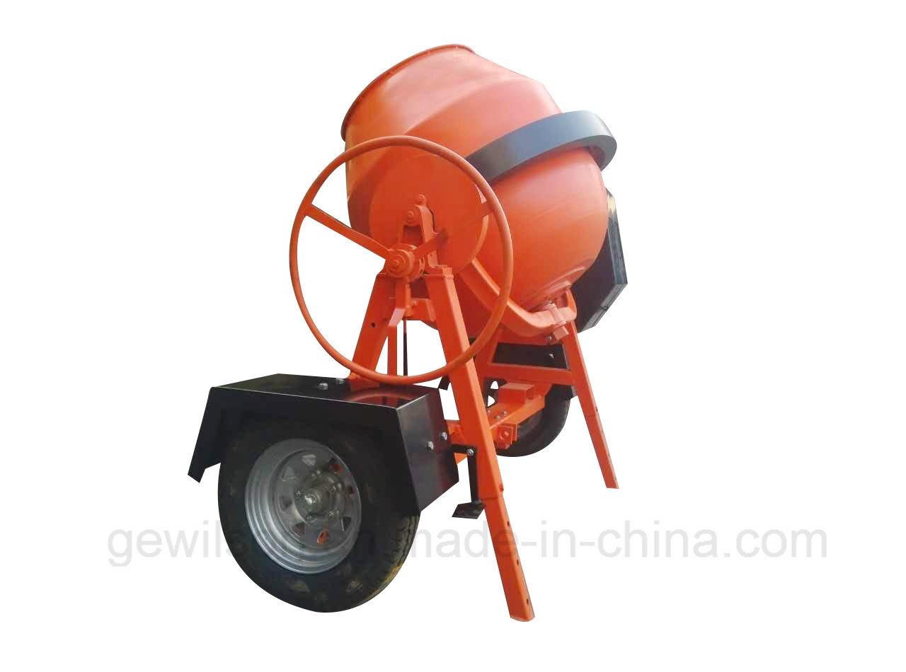350L Portable Concrete Mixer with Diesel Engine