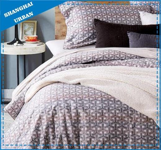 Reactive Printing 300tc Cotton Bedding Set