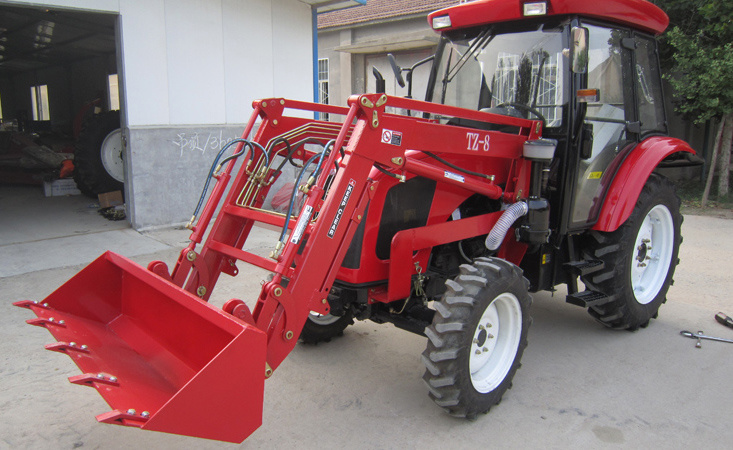 35HP-75HP Agriculture Use Wheel Farm Tractor with Loader