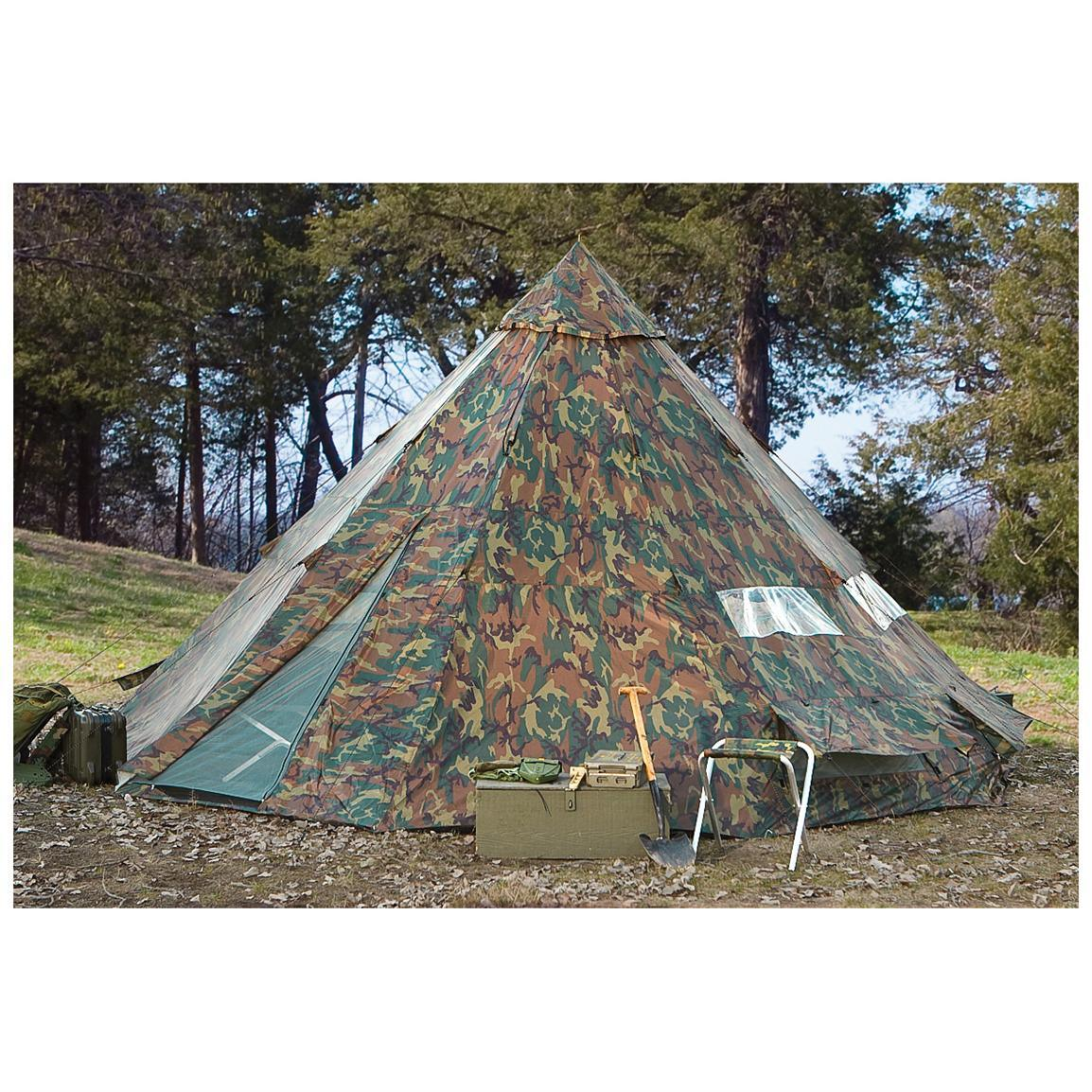 2017 High Quality Military Tent Big Camping Bell Teepee Tents