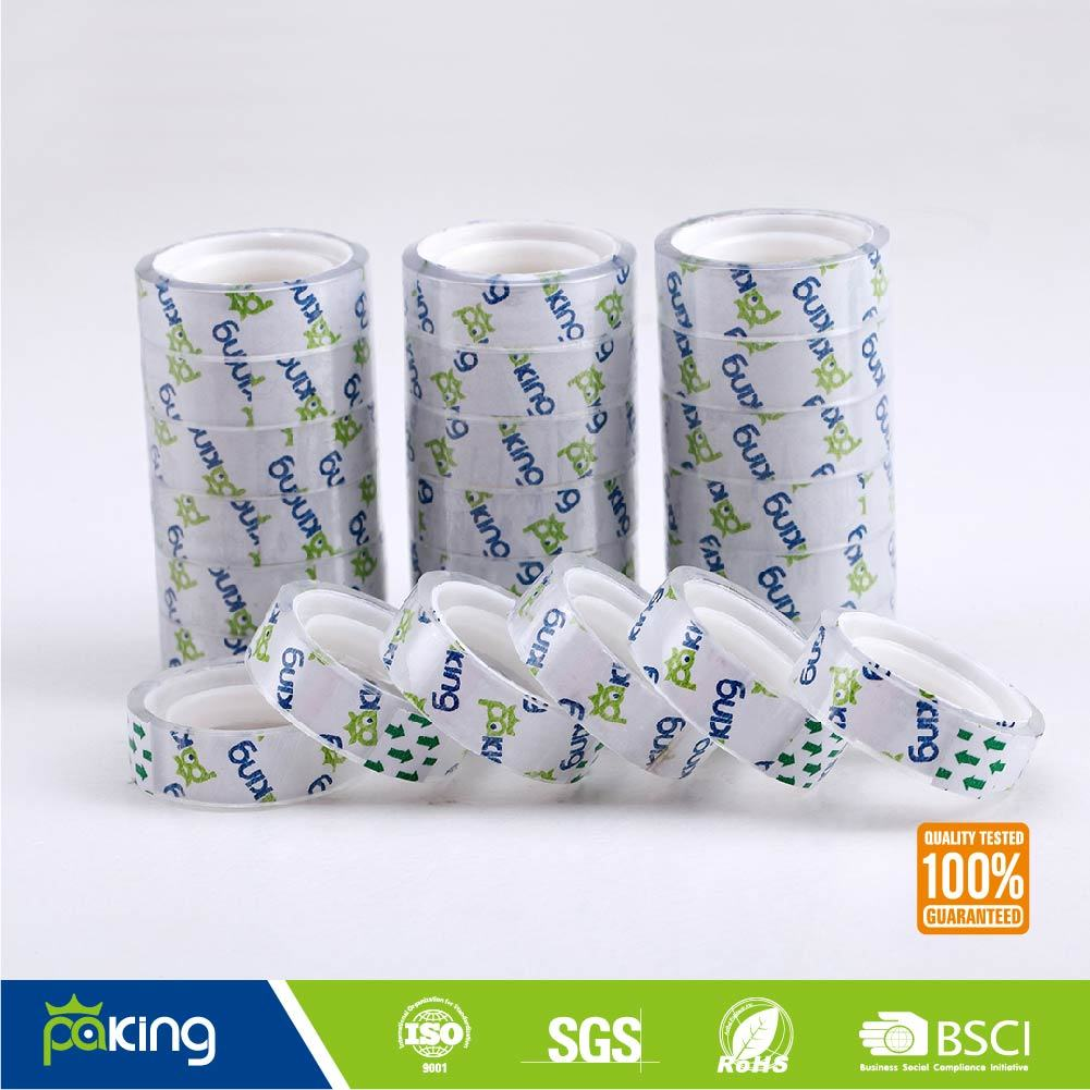 Super Clear Stationery BOPP Adhesive Tape for School Use