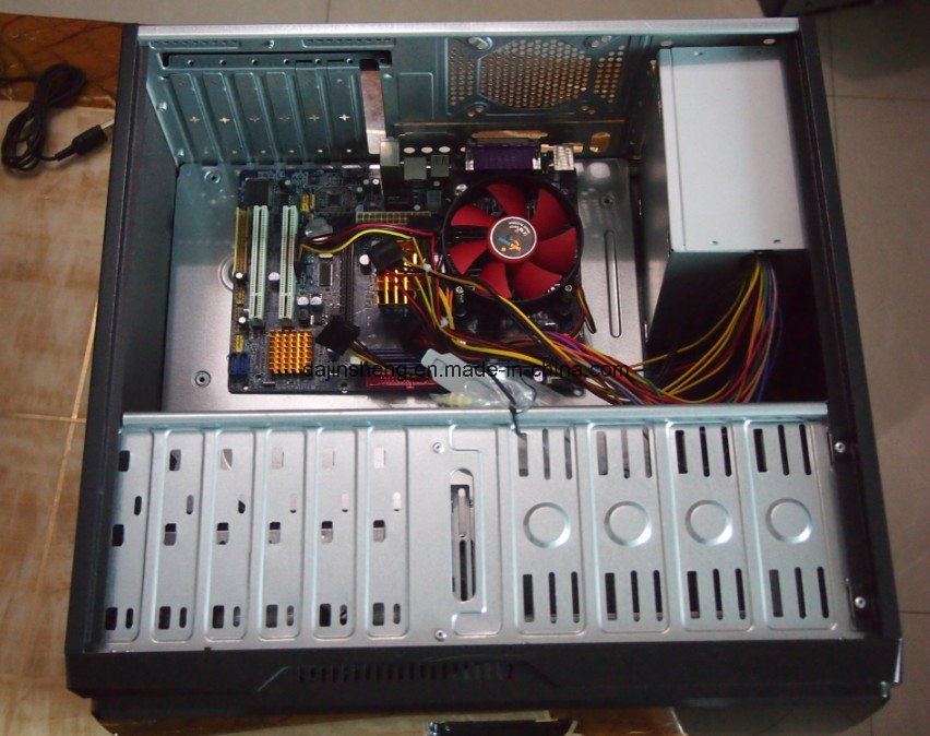 Assembling Personal Desktop Computer DJ-C002 with 17 Inch Monitor