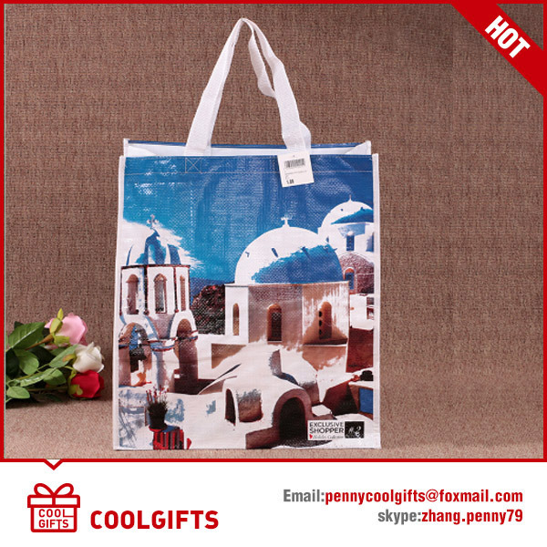 Cartoon Cute Laminated Non Woven Bag for Promotional Gift