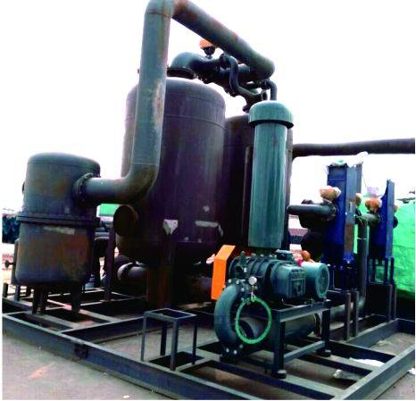 Low Pressure Steam Drum Wind Regenerative Dryer