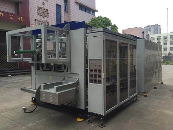 Chinese Cheap Vacuum and Pressure Forming Machinery