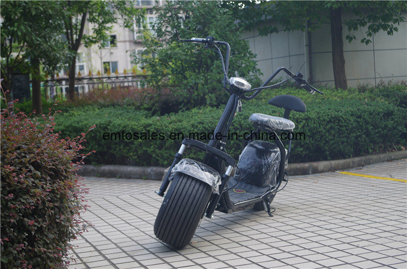 2016 Newest Product Seev Citycoco Electric Scooter with Two Seat and Suspension