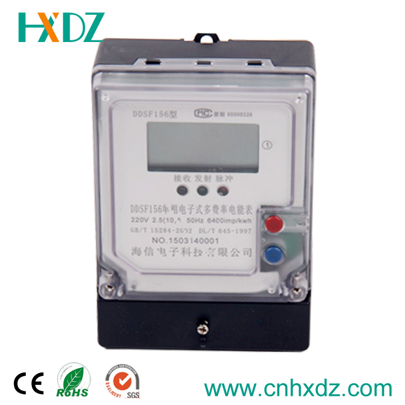 Single-Phase Electronic Multi-Rate Watt Hour Meter