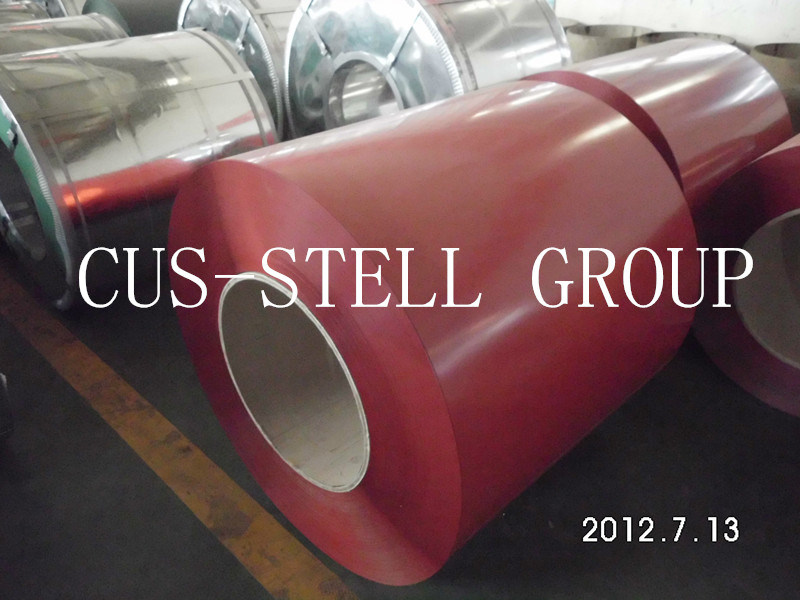 Prepainted Galvanized Steel Coil/Matt PPGI/PE Film Color Coated Steel Coil