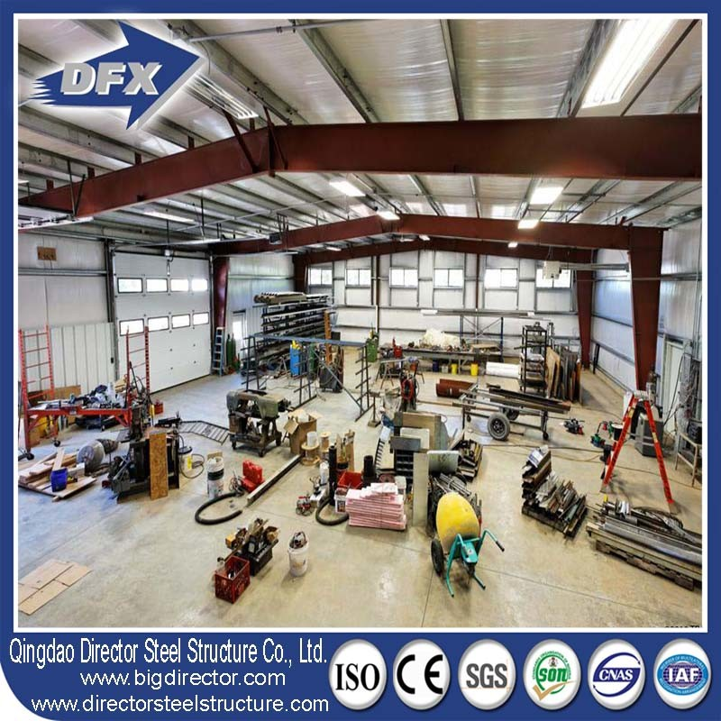 SGS Certification Steel Structure Fabrication/Prefab/Prefabricated/Metal Workshop