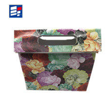 Portable Paper Shopping Handle Bag for Gift