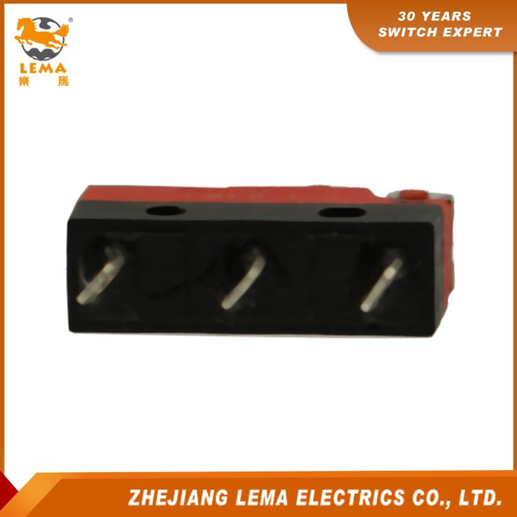 Lema Kw12f-8 Waterproof IP67 Long Lever Micro Switch