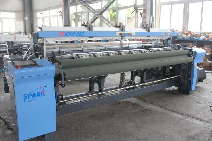 Width Air Jet Loom with Tuck-in Device