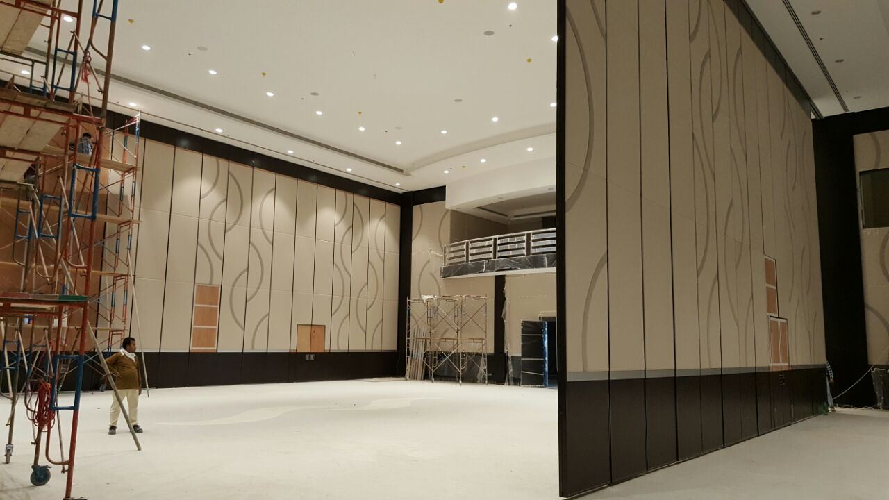 Multi-Purpose Hall Operable Partition Wall