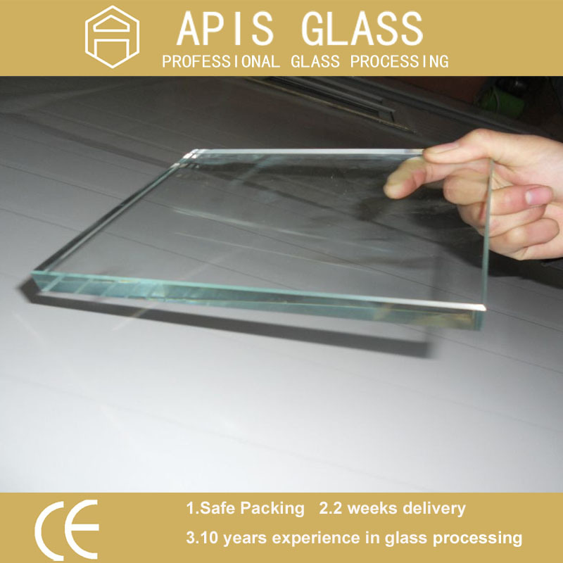 3-12mm Clear Float Heat Strength Soaked/ Toughened /Safety/Furniture/Tempered Glass with Ce En12150 SGCC Ansiz 297
