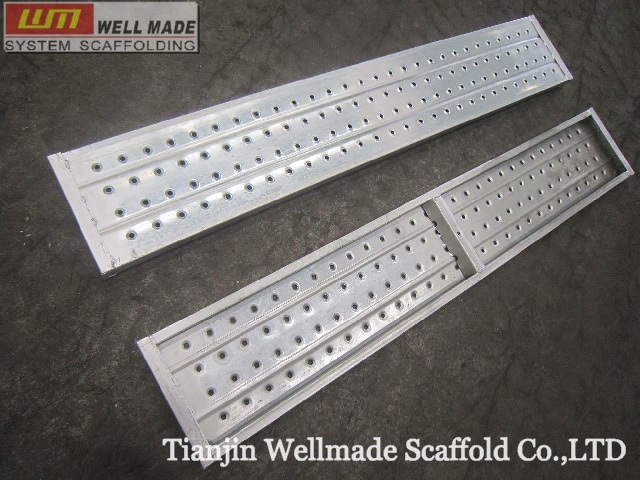 China gi tube scaffold frame metal deck walk board plank