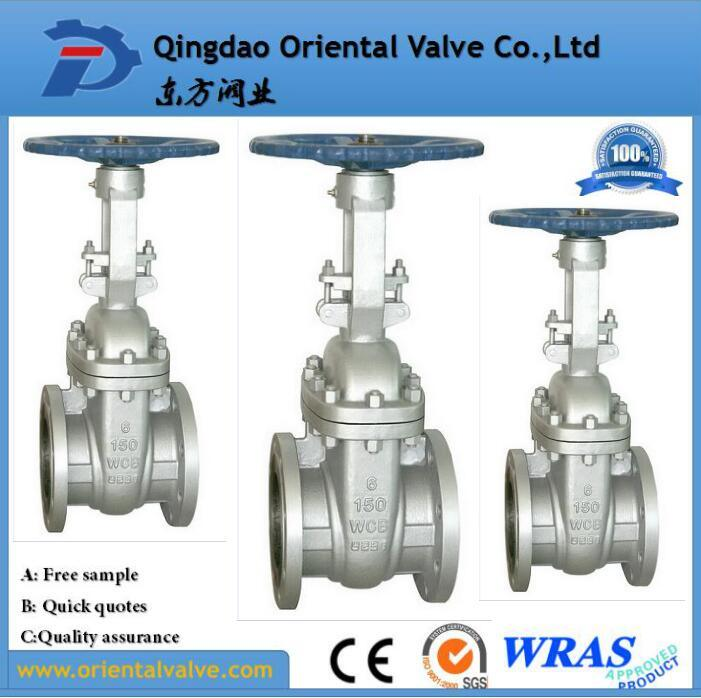 ANSI-150lb Scs13 Stainless Steel Flanged Knife Gate Valve with Best Prices
